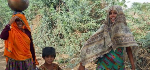 femeie rajasthan india